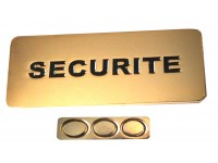 BADGE SECURITE MAGNETIQUE + EPOXY