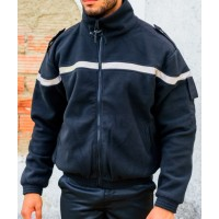 Blouson Polaire Double Securite Grand Zip