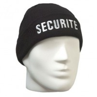 Bonnet Acrylique brode SECURITE