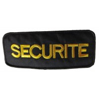 Brassard Noir Securite OR Velcro