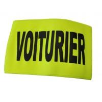 BRASSARD JAUNE  SERIGRAPHIE VOITURIER