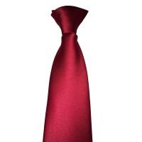 Cravate Sécurité à Clip Rouge