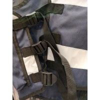 Gilet Bleu Marine Haute Visibilité Personnalisable THOR