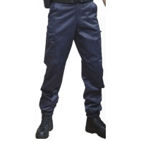 Pantalon Maitre Chien Anti-statique bleu
